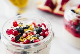 Overnight Buckwheat Cashew Parfait